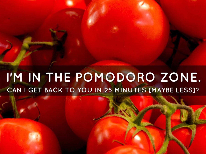 Pomodoro Zone